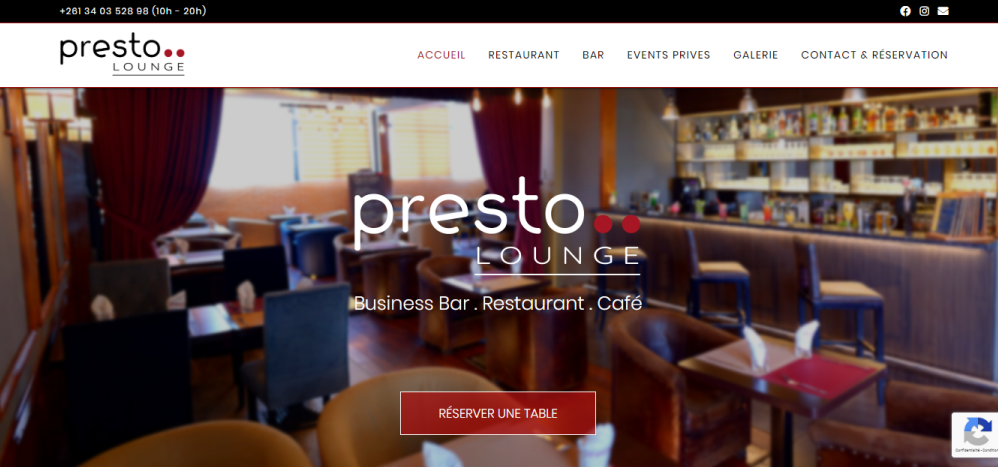 Presto Lounge