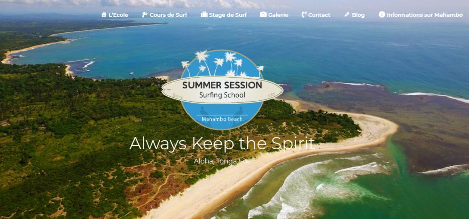 Summer Session Surfing School